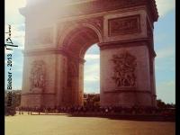Arc de Triomphe - Paris - © Marie BIEBER - 2013