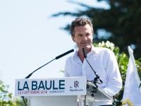 Campus Les Républicains La Baule 2016 : Christophe BECHU - La Baule - © Marie BIEBER - 2016