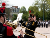 Commémorations 8 Mai 1945 : Fanfare 6ème RG - Angers - © Marie BIEBER - 2016