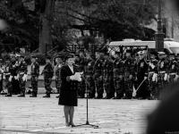 Commémorations 8 Mai 1945 : Béatrice ABOLLIVIER (Préfète de Maine-et-Loire) - Angers - © Marie BIEBER - 2016