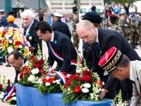 Commémorations 8 Mai 1945 : Dépôt de gerbes - Angers - © Marie BIEBER - 2016