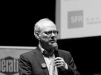 """Forum Libération \""""Qui gouverne Internet ?\"""" : Laurent JOFFRIN - LIBERATION - Angers - © Marie BIEBER - 2016"""