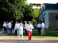 Kermesse du Réseau Entreprendre 2014 : Dress code blanc - Rochefort sur Loire - © Marie BIEBER - 2014