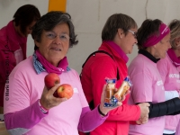 Octobre Rose 2014 : Collation en fin de course - Angers - © Marie BIEBER - 2014