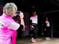 Octobre Rose 2016 : Flashmob des Z\'elles Roses - Angers - © Marie BIEBER - 2016