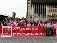 Octobre Rose 2016 : Equipe de la Caisse des Dépôts - Angers - © Marie BIEBER - 2016