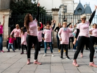 Octobre Rose 2016 : Flashmob - Angers - © Marie BIEBER - 2016