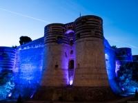 La Balade du Roi René - Le Château d\'Angers illuminé - Angers - © Marie BIEBER - 2016