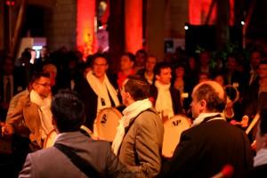 Gala des Entrepreneurs 2013 : Activité musicale - Angers - © Marie BIEBER - 2013