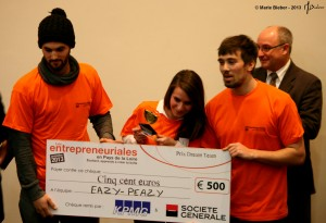 "Les Entrepreneuriales 2013 : ""Easy-Peazy"" - Angers - © Marie BIEBER - 2013"