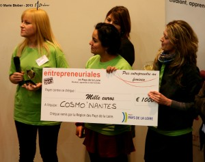 "Les Entrepreneuriales 2013 : ""Cosmo'Nantes"" - Angers - © Marie BIEBER - 2013"