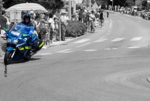 Caravane publicitaire : Gendarmerie - Durtal - © Marie BIEBER - 2013