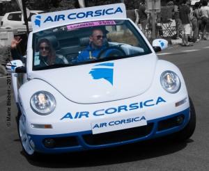 Caravane publicitaire : Air Corsica - Durtal - © Marie BIEBER - 2013