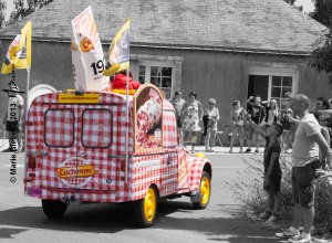 Caravane publicitaire : Cochonou - Durtal - © Marie BIEBER - 2013